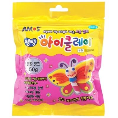 [아모스] 아이클레이50g 형광핑크 [개/1] 91943