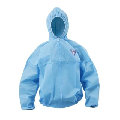 [유한킴벌리] 크린가드A30보호복 자켓특대 진하늘색 (8벌) 43112 [팩/1] 330963