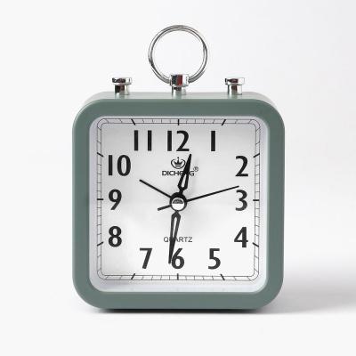 퀴리 스퀘어 알람 탁상시계(그린)