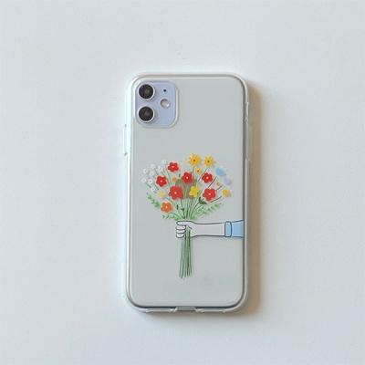꽃다발 젤리 케이스