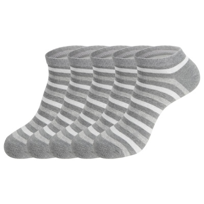 [쿠비카]줄무늬 링글 스니커즈 남성 단목양말5족 S418