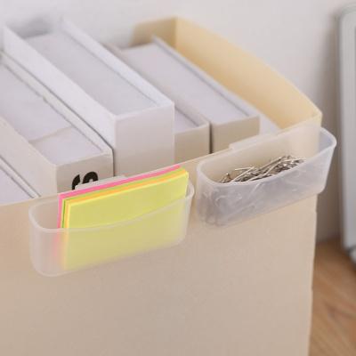 반투명 냉장고 소스 미니포켓 화장품 샘플 수납통 2P