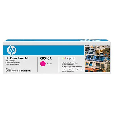 HP TONER CB543A / Magenta / Color Laserjet CP1215/CP1515 / 1,400P