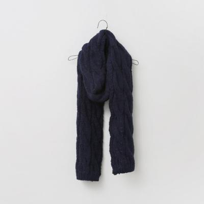 Big Twist Knit Muffler
