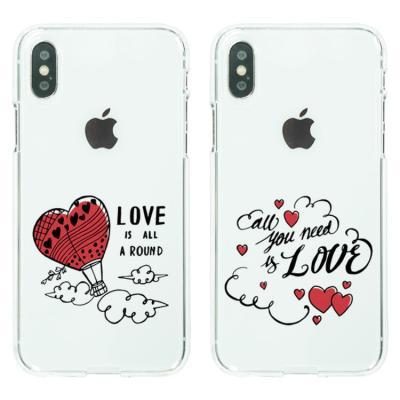 아이폰8/7플러스케이스 LOVE 소프트젤리케이스