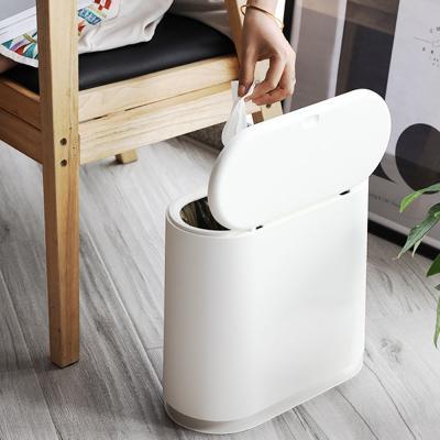 모던 원터치 인테리어 쓰레기통 휴지통 분리수거함