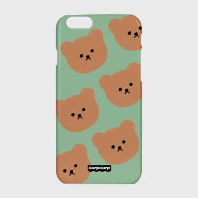 Dot big bear-pastel mint