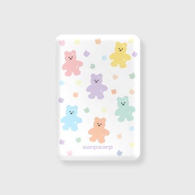 Bear friends-white(무선충전보조배터리)