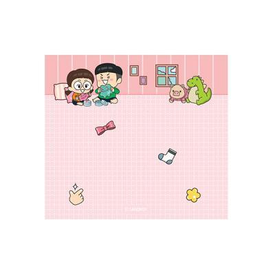 흔한남매 사각메모지(핑크)
