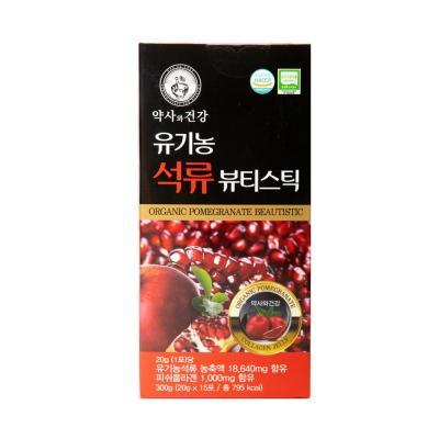 약사와 건강 유기농 석류 뷰티스틱 20g x 15포
