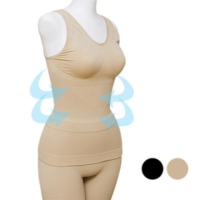 Make Slim UP Seamless Top&Shorts SET 무봉제 보정속옷 상하세트