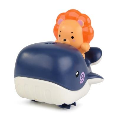 라이언 수륙양용 고래보트 유아 목욕놀이 물총 장난감