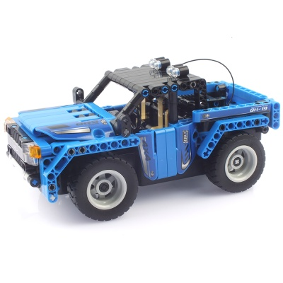 27Mhz 블록테크닉 자동차 2in1 블록RC 블루 291199