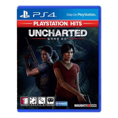PS4 언차티드 잃어버린 유산 PS HITS (할인이벤트)