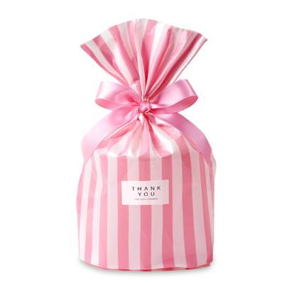 OPP 비닐 [바닥M] 핑크 패키지 (2set)