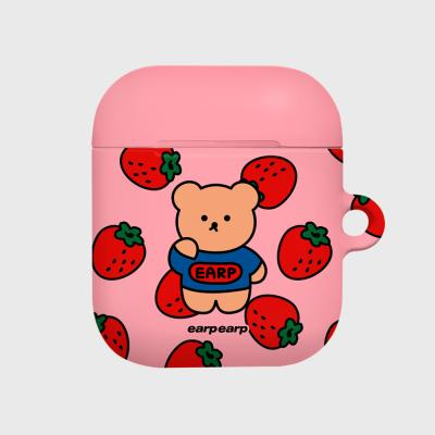 strawberry bear-pink(Hard air pods)