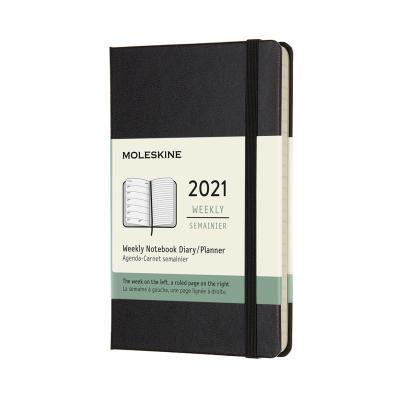 몰스킨 2021위클리/블랙 하드 P
