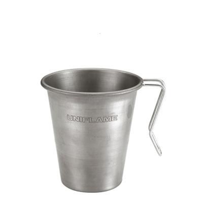 [유니프레임] 스태킹 머그 티타늄 500ml 캠핑 컵