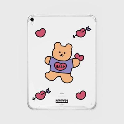 Love bear heart-pastel(아이패드-투명)