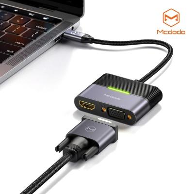 맥도도 3 in 1 C타입 허브 어댑터 HDMI VGA C타입 PD