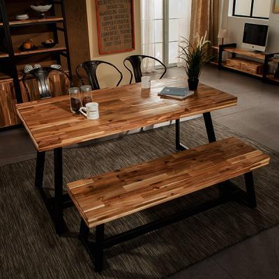 [에인하우스] 알레그로G 6인용 식탁세트 (벤치/의자)