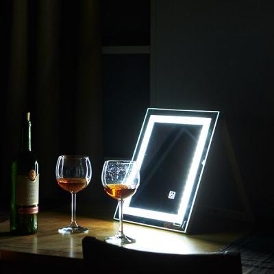 [Ldlab] 시크릿 LED 터치 탁상용 거울