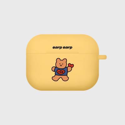 Bear heart-yellow(Air pods pro)