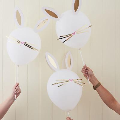토끼 풍선 만들기 Easter bunny balloons 부활절
