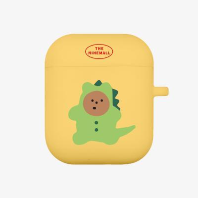 dinosaur gummy 에어팟 케이스 [yellow]