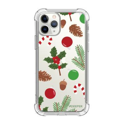뮤즈캔 ADEEPER 아이폰11프로 크리스마스 패턴 케이스