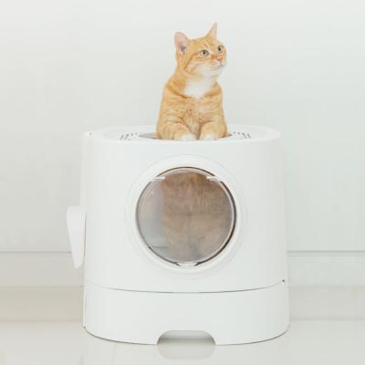 펫트리움 고양이 탑도어 화장실 1입 고양이화장실