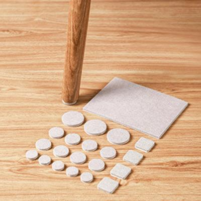 펠트 의자 다리 바닥 긁힘 소음 방지 패드 (복합형)
