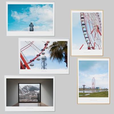 인테리어액자 여행 시리즈 5종 (A3 Print+액자)