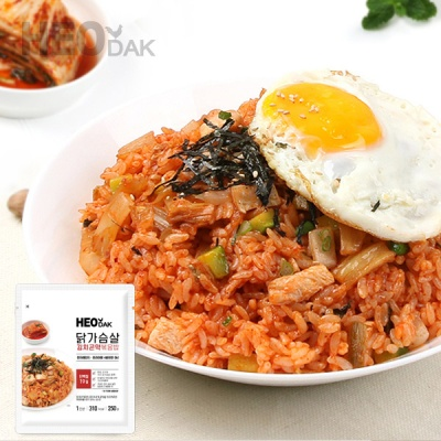 [허닭] 닭가슴살 김치곤약볶음밥 250g