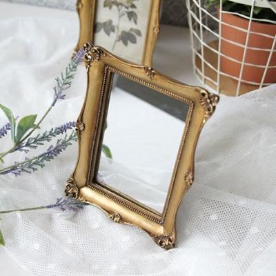 [HEIM] 로렌 골드 사각 거울