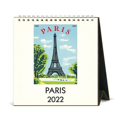 2022 데스크캘린더 Paris