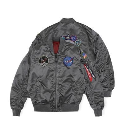 알파인더스트리 MA-1 아폴로 배틀워시 NEW SILVER