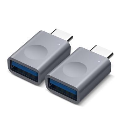 알루미늄 USB C타입 LED 변환 어댑터
