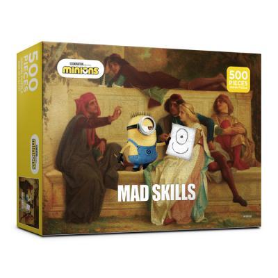 (알록퍼즐)500피스미니언즈매드스킬즈직소퍼즐 AL5319