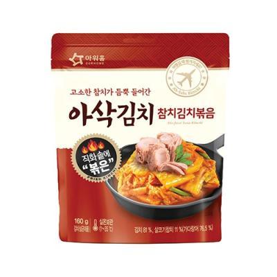 [아워홈] 아삭김치 참치김치볶음(160g)