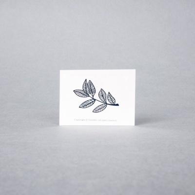 leaf 패션타투