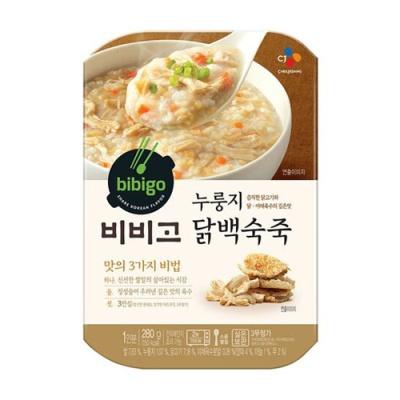 [CJ제일제당] 비비고 누룽지닭백숙죽 280gx3팩