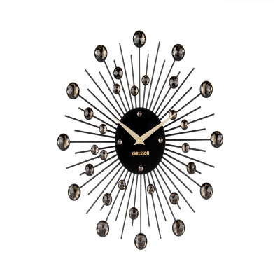 [Karlsson] Sunburst crystal medium 벽시계