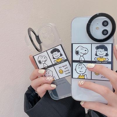아이폰12 11 pro max xs 8 캐릭터 링 거치대 폰케이스