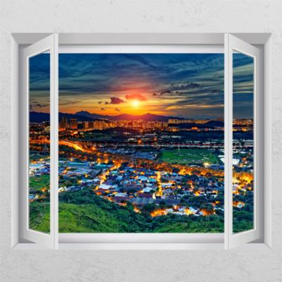 ij973-대도시풍경_창문그림액자