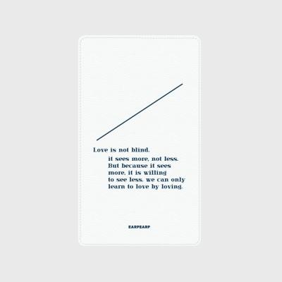 [어프어프] 보조배터리 Line-white