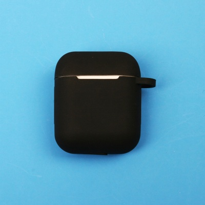 화이트 블랙 2세대 무선 충전 에어팟 케이스