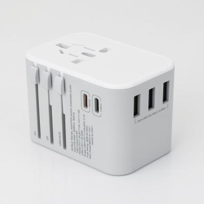 JY307 고급형 해외용 멀티아답터 노트북PD/QC3.0지원