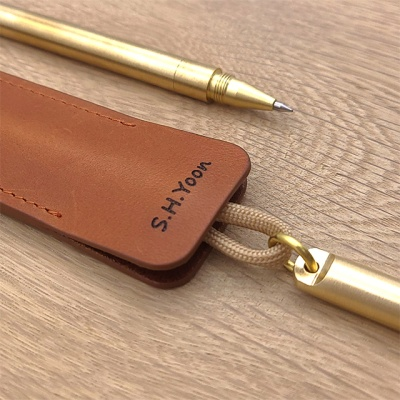 Brass Pocket Pen (황동 포켓펜)