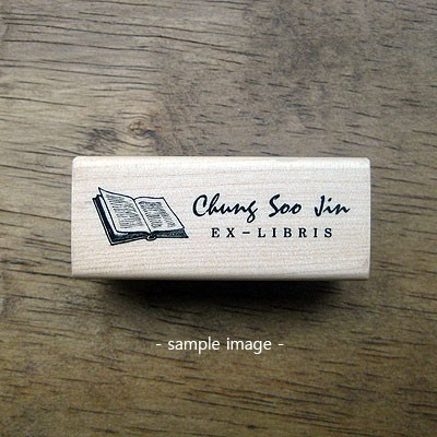 [주문제작스탬프]Book